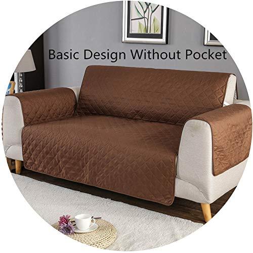 Gypsophila-shop Sofa-/Couch-Überwurf, Haustier-Matte, Möbelschutz, wendbar, waschbar, abnehmbare Armlehnenbezüge für 1/2/3 Sitze, No Pocket Model E, 2 Seat (130-195cm)