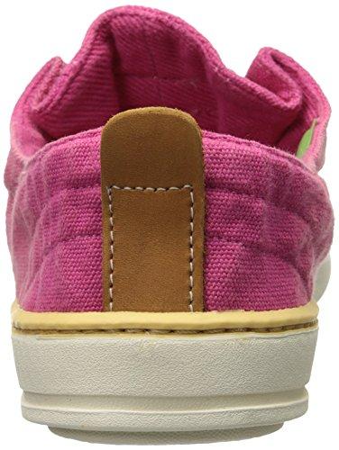 Timberland Women s Hookset Oxford Sneaker  Dark Pink  6 M US