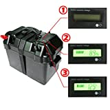 ECO-WORTHY 100amp Black Deep Cycle Battery Box with LCD Screen