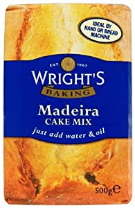 Wright's Baking Madeira Cake Mix 500 g (Pack of 5)