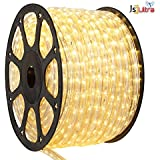 Led Strip Rope Light SMD Roll Super Thin 3014. (Warm White(Yellow), 5 Meter)