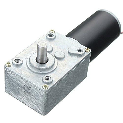 ChaRLes Dc 12V 3/5/10/15/25U/Min Motor Reducer Worm Gear Dc Motor - 25 (Worm Reducer Gear)