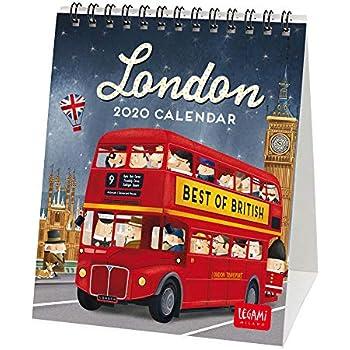 NUOBESTY Calendario da 1 anno 2020 calendario da appendere mensile calendario da scrivania per ufficio ristorante casa