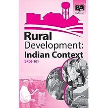 BRDE101 Rural Development :Indian Context(IGNOU Help book for BRDE101 in (English Medium)
