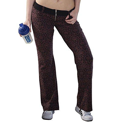 BIG SM EXTREME SPORTSWEAR Damen Jazzpants Workout Aerobic Fitness 945 rot XL