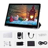 Android  Tablet 10 'Quad-Core-Prozessor 4 GB RAM und 64 GB Tablet PC WiFi-Speicher GPS-Kamera und Zwei Kartensteckplätze(3G LTE)