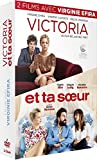2 Films avec Virginie Efira : Victoria + et ta Soeur - Coffret DVD