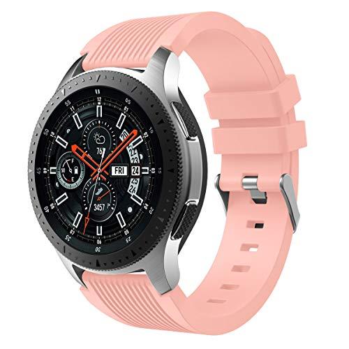 XIHAMA per Cinturini Samsung Galaxy Watch 42mm 46mm, Cinturino da Polso in Silicone Sportivo sostitutivo per Orologi da Polso...