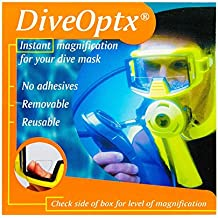 Lentes adhesivas de lectura con aumento para gafas de buceo, color Clear Bifocal Lens,