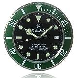 HAOYUN Submariner Rolex orologio da parete luminosa