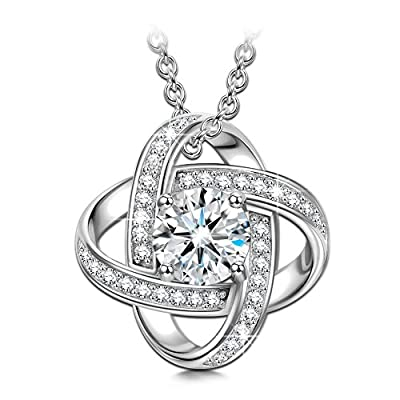 Sirila - Satellite Series - 925 Sterling Silver Women Necklace Pendant