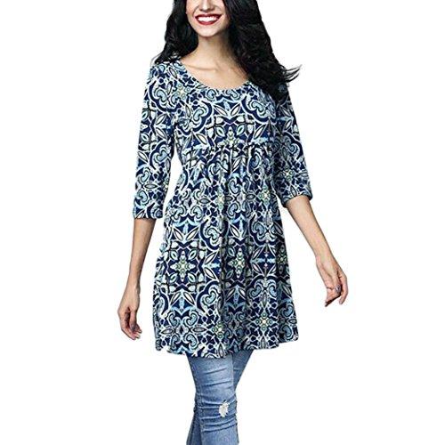 Damen Langarmshirt-Shirt V Ausschnitt T-Shirt Frauen Casual Tops Bluse Pullover Unterziehshirt Hemd (M, Grau)