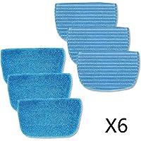 Neatec Steam Mop Fiber Cloth 6 Piezas para EUM30B, EUM30C, EUM45B, EUM45C