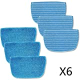 Neatec Dampfmopp Mikrofasertuch 6 teilig für EUM30B,EUM30C, EUM45B,EUM45C
