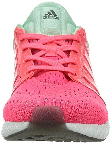 Adidas Cc Rocket-boost-w, Rosa / Grã¼n / Weiã?, 6 Us Pink