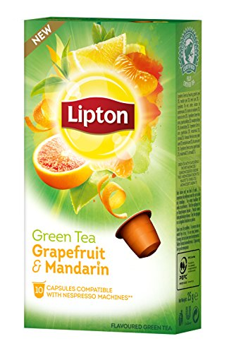 Lipton Pompelmo&Mandarino Capsule - Pacco da 10 x 9 gr - Totale: 90 gr