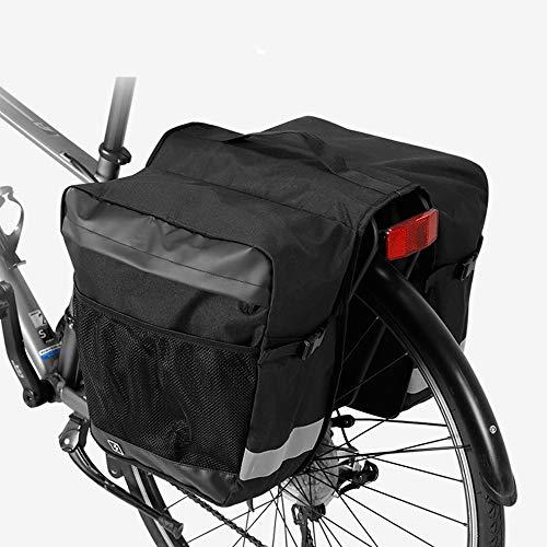 Wasserdichte Fahrradregalgepäckregaltasche Fahrrad-Rücksitz-reflektierende Ordnung und große...