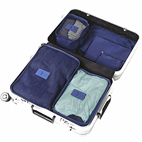 Packing Cubes, ARKTEK Various Size Travel Luggage Packing Organizers with