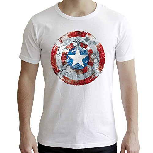 AbyStyle abystyleabytex410-xs Marvel ca Classic Short Sleeve Herren Neue Fit T-Shirt (XS)