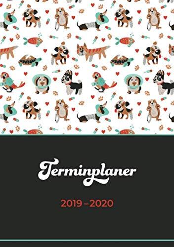 Price comparison product image Terminplaner 2019–2020: Für Tierärztinnen und Tierarztgehilfinnen / Juli 2019 bis Dezember 2020 / Wochentage unterteilt von 7.00 bis 21.00 Uhr