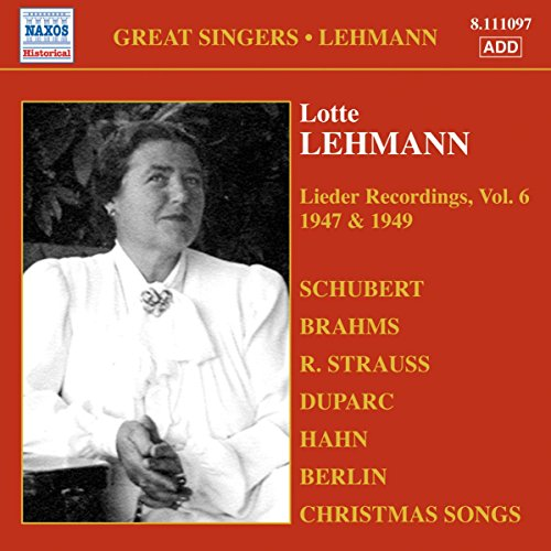 Enregistrements de Lieder, Volume 6 (1947-1949)