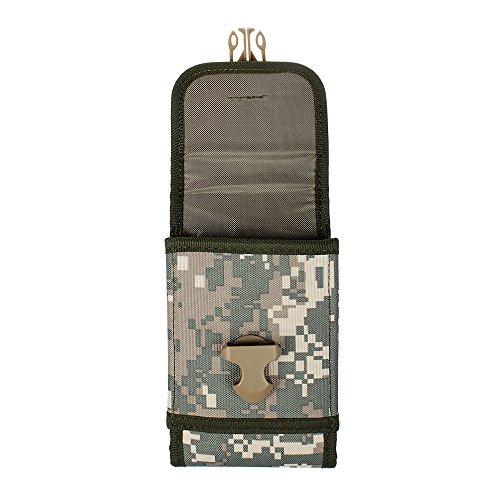 xhorizon(TM)MW8 1000D NylonArmee Camo TouchDienstTactical MOLLE UniversalMultifunktionsgürteltasche Holster für Multi Handy Modell #B8 Camouflage Ruinen