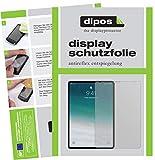 dipos I 2X Schutzfolie matt passend für Apple iPad Pro 11 Zoll (2018) Folie Bildschirmschutzfolie