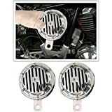 Spidy Moto Bike Motorcycle Twin Tone Horn set of 2 Royal Enfield Classic 350