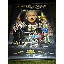 Robert Gustafsson: Kungen Av Humor, 25 Jubileumservy (med extra) [DVD Region 2 PAL] Audio: Swedish / Subtitles: None by Robert Gustafsson
