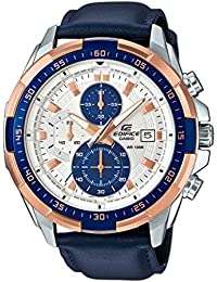 Casio Edifice Chronograph Off-White Dial Men's Watch - EFR-539L-7CVUDF (EX306)