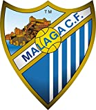 Malaga CF - Football Club Crest Logo Wall Poster Print -