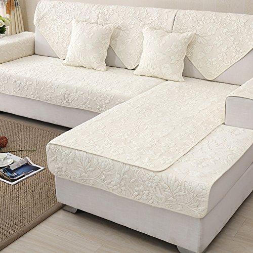 Einfache moderne sofa handtuch abdeckungen,Baumwolle stoff universal Sofabezug protektor für wohnzimmer cover-sets für sofa vier jahreszeiten anti-rutsch-sofa slipcovers-G 90x160cm(35x63inch) (Wohnzimmer-sofa-möbel-sets)