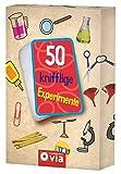 50 knifflige Experimente: Karten zum Experimentieren und Staunen für kleine Forscher (Karten für Kinder)