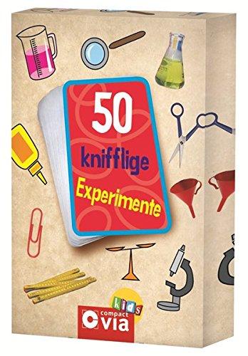 50 knifflige Experimente: Karten zum Experimentieren und Staunen für kleine Forscher