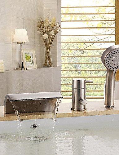 kissrainr-contemporanea-nichel-spazzolato-tre-fori-maniglia-cascata-rubinetto-vasca-con-doccetta
