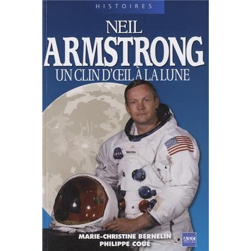 Neil Armstrong: Un clin d'oeil à la Lune.