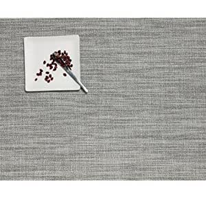 """Chilewich Boucle Table Mat, Salt 14"""" X 19"""" by Chilewich"""