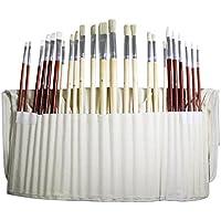 Set di 24 pennelli per pittura arte
