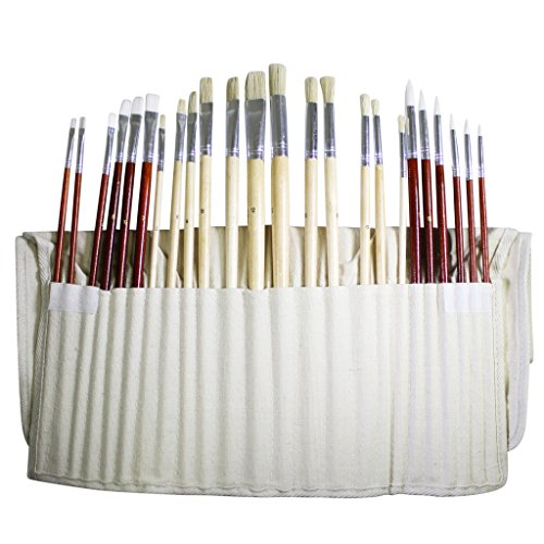 set-of-24-fine-art-paintbrushes-for-oil-acyrlic-watercolours-in-canvas-storage-pouch-by-curtzy-tm