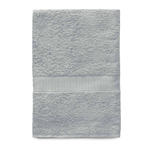 Gabel telo bagno, tinta unita, 100% cotone, grigio