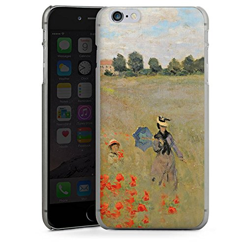 Apple iPhone X Silikon Hülle Case Schutzhülle Claude Monet Gemälde Kunst Hard Case anthrazit-klar