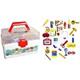 My Planet Educational Kids Medical Carry Case Junior Doctor/Nurse Role Play Dress Up Deluxe Toy Set
