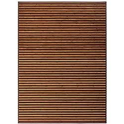 LOLAhome Alfombra de salón árabe marrón de bambú de 180 x 250 cm Arabia, 180x250