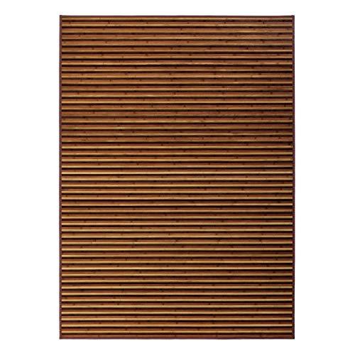 Alfombra salón árabe marrón bambú 180
