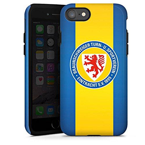 Apple iPhone X Silikon Hülle Case Schutzhülle Eintracht Braunschweig Fanartikel Fussball Tough Case glänzend