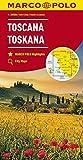 MARCO POLO Karte Italien Blatt 7 Toskana 1:200 000 (MARCO POLO Karten 1:200.000) - Collectif