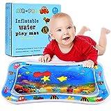Wesimplelife Tapis d'eau Gonflable de Bébé pour Nourrissons et Enfants en Bas âge Tapis de jeu pour Bébé Étanches Sans BPA Tapis d'eau Jouet pour Bébé Baby Stimulation Croissance(26 X 20inch)