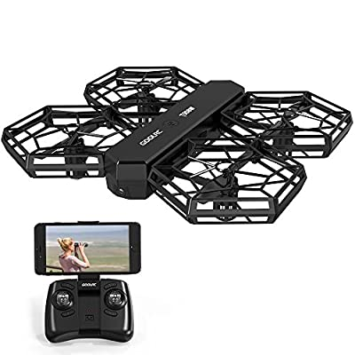 GoolRC Detachable Drone HD Camera Wifi FPV Altitude Hold Headless Mode G-sensor RC Quadcopter DIY Helicopter from GoolRC