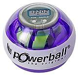Kernpower® Powerball® Multi-Light AutoStart Max gyroskopischer Hand- und Armtrainer inklusive Autostart-Mechanik zum Aufziehen und mit digitalem Drehzahlmesser
