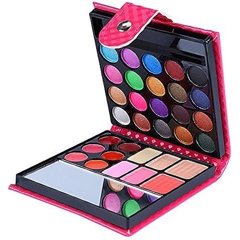 32 Colors Eye Shadow Makeup Palette Set Cosmetic Blush Lip